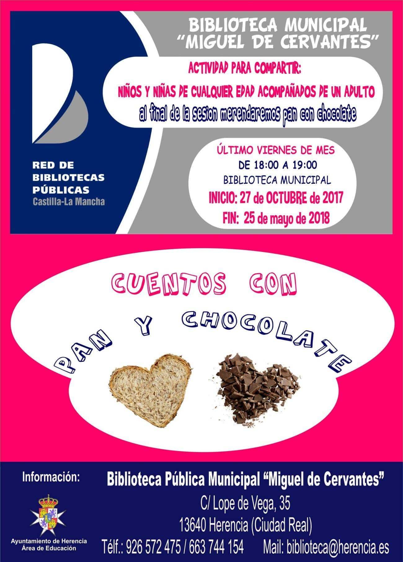 resized Cartel Cuentos con pan y chocolate. 1300x1814 - Nueva temporada de Cuentos con Pan y Chocolate
