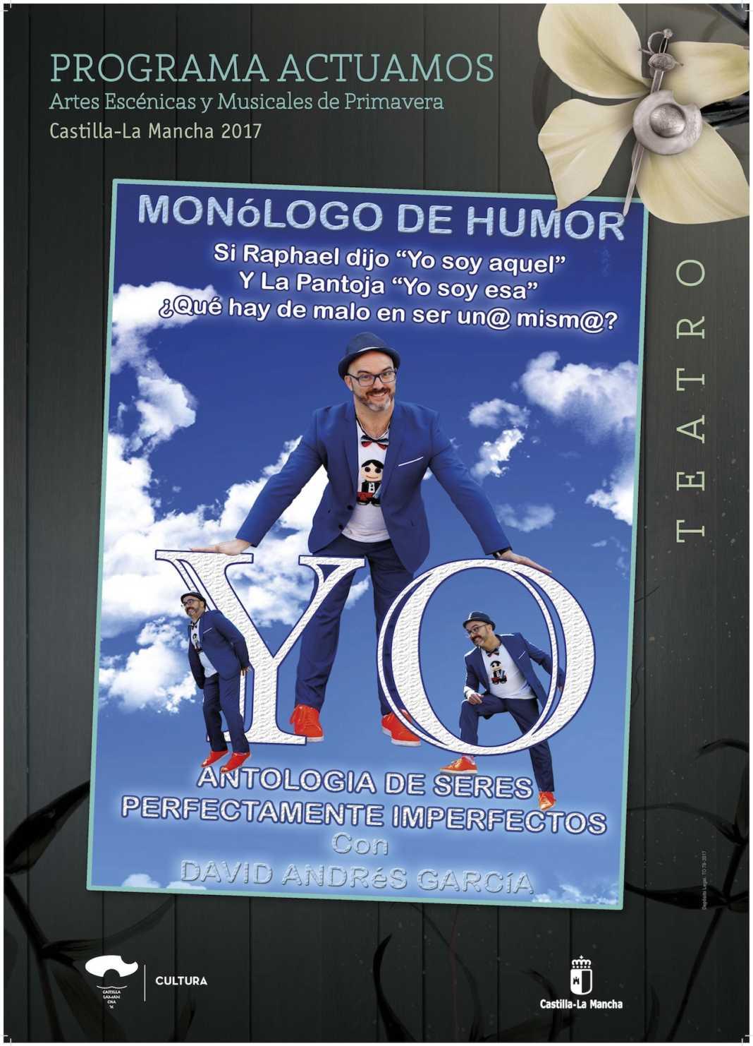 seres perfectamente imperfectos herencia 1068x1482 - Monologo de humor con David Andrés García en Herencia