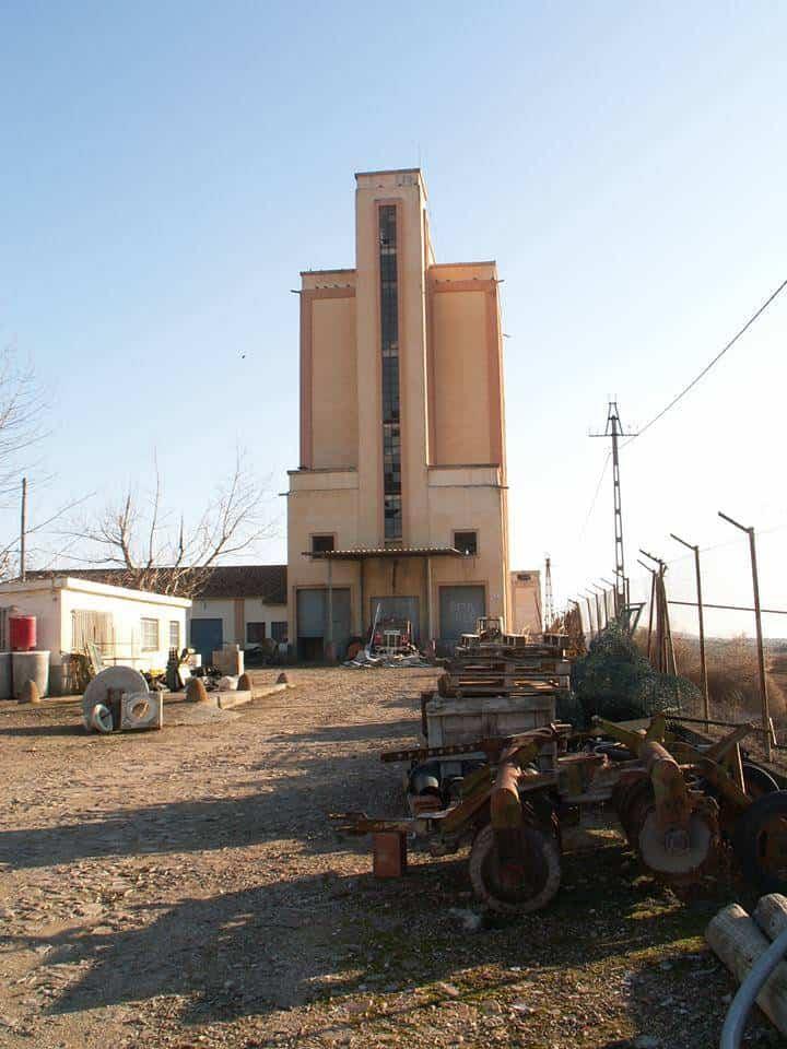 silo de herencia - El antiguo silo de Herencia acogerá el nuevo Centro de Interpretación del Queso
