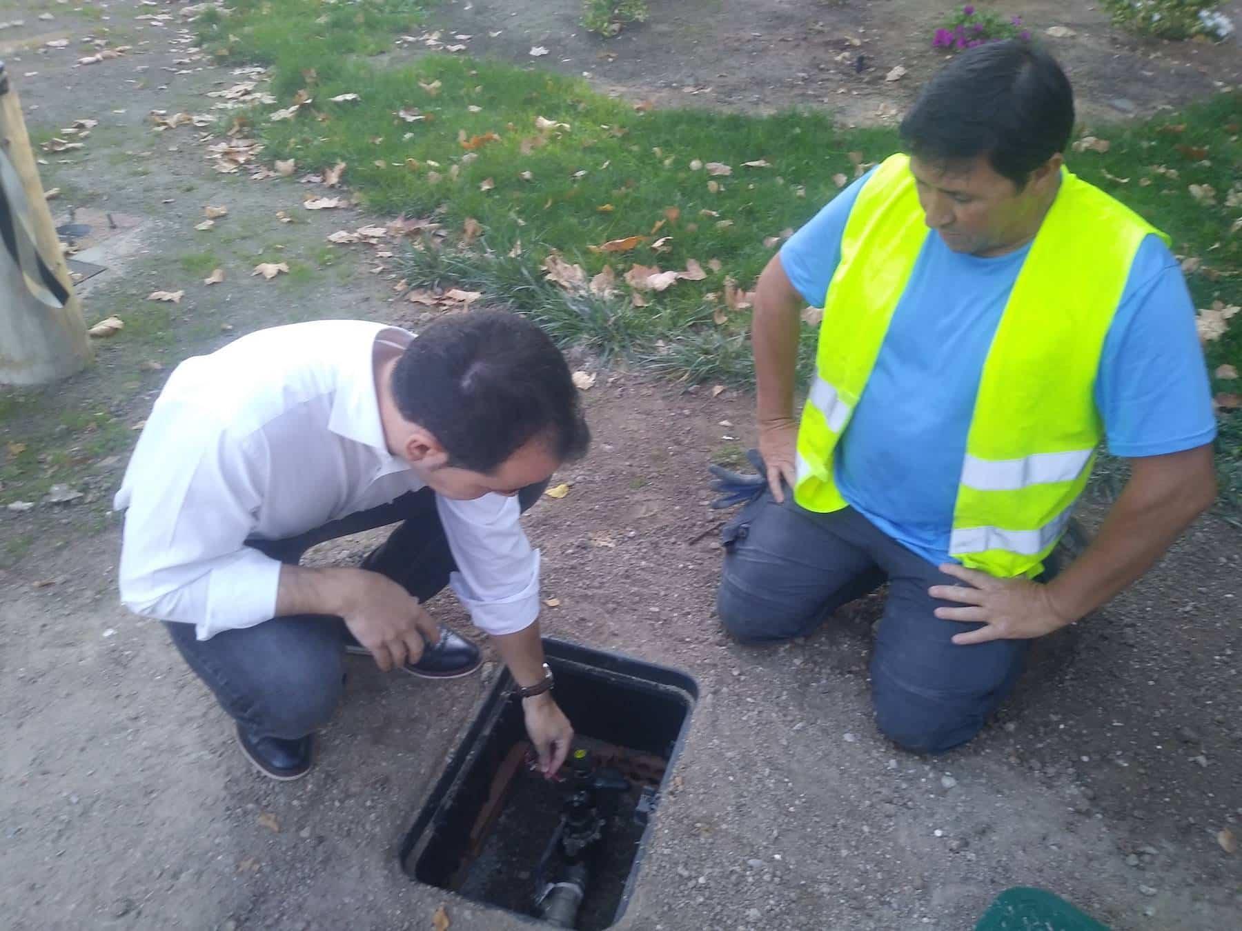 telegestion riego herencia 1 - La telegestión de riego de Herencia permitirá ahorrar el 30% del consumo de agua