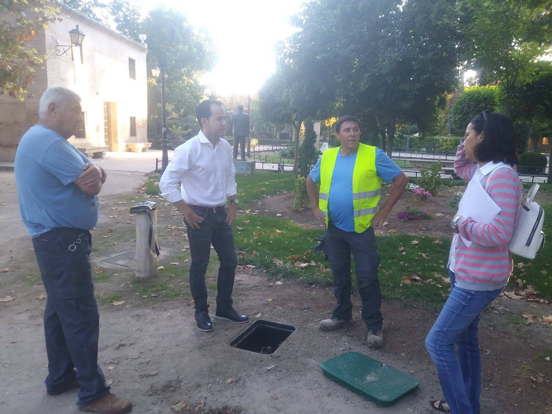 telegestion riego herencia 2 - La telegestión de riego de Herencia permitirá ahorrar el 30% del consumo de agua