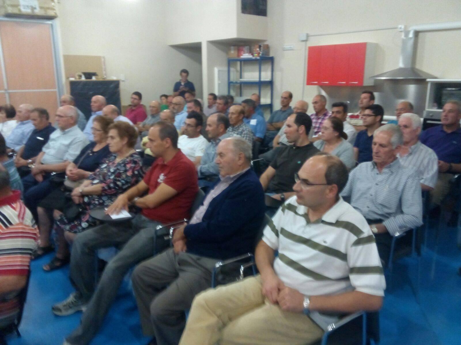 """Presentada la candidatura de """"Unión de Comunidades y Regantes"""" en Herencia 20"""