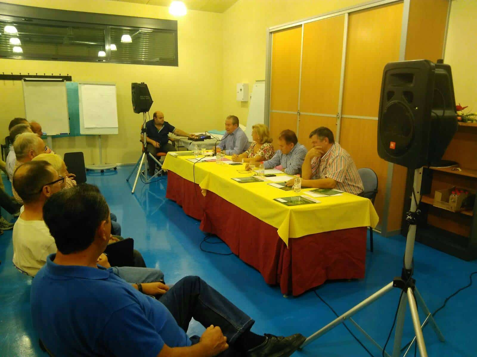 """Presentada la candidatura de """"Unión de Comunidades y Regantes"""" en Herencia 22"""