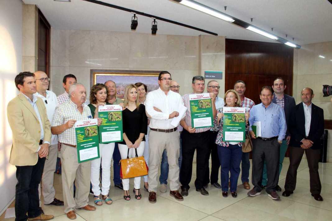 """La candidatura """"Unión de Comunidades y Regantes"""" explicará su programa electoral en Herencia 4"""