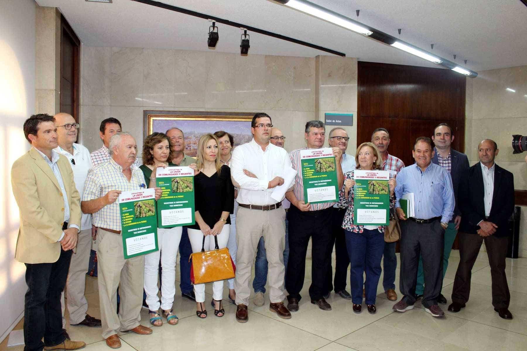 """La candidatura """"Unión de Comunidades y Regantes"""" explicará su programa electoral en Herencia 3"""