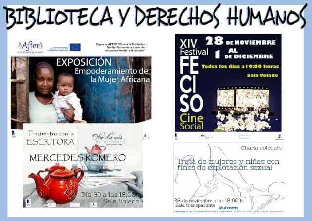 BIBLIOTECA Y DERECHOS HUMANOS - Continúa la presentación del libro 'Otro día más'