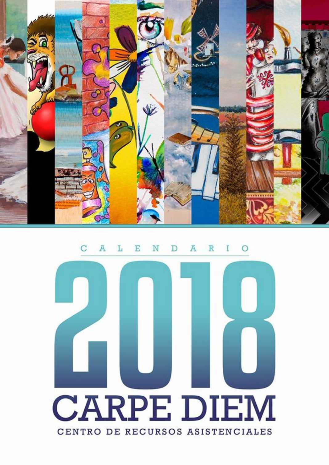 El centro Carpe Diem presenta su calendario 2018 7