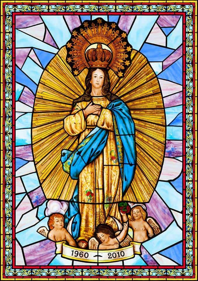 Cartel fiestas patronales inmaculada concepcion de Herencia 2017a - Actos de las fiestas patronales en honor a la Inmaculada Concepción