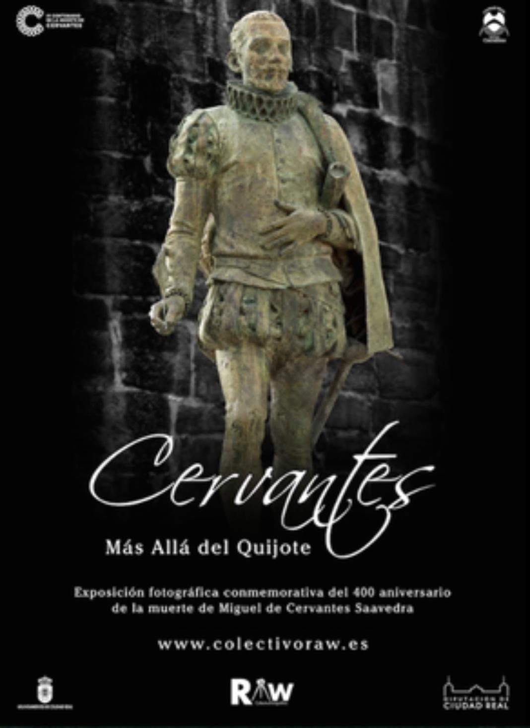 """Cervantes mas alla del Quijote 1068x1467 - La exposición """"Cervantes, más allá del Quijote"""" en Herencia"""