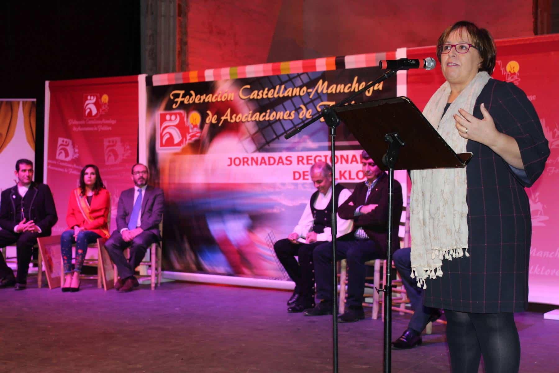 Jornadas regionales de Folclore con Olmedo