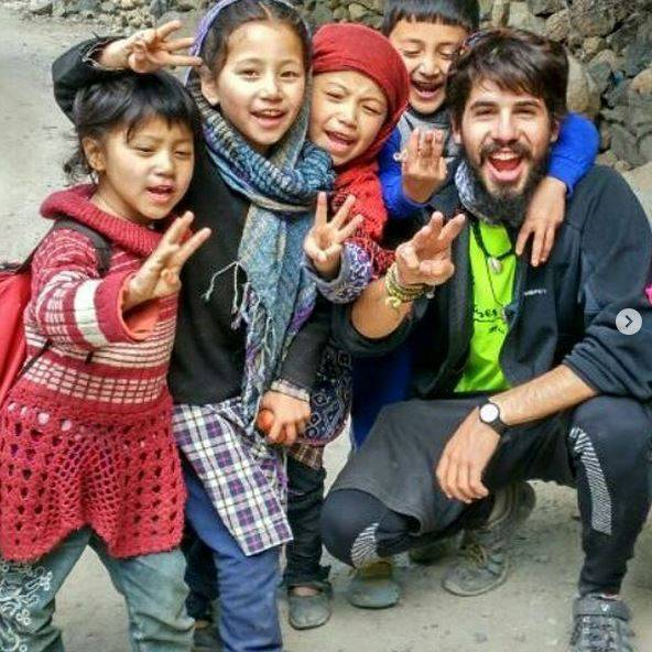 Perlé atravesando la singular Cachemira 56