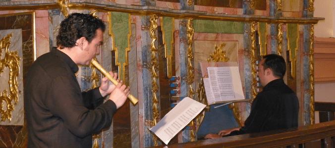 audi filia musica antigua - Concierto de órgano a cargo del grupo Audi-Filia