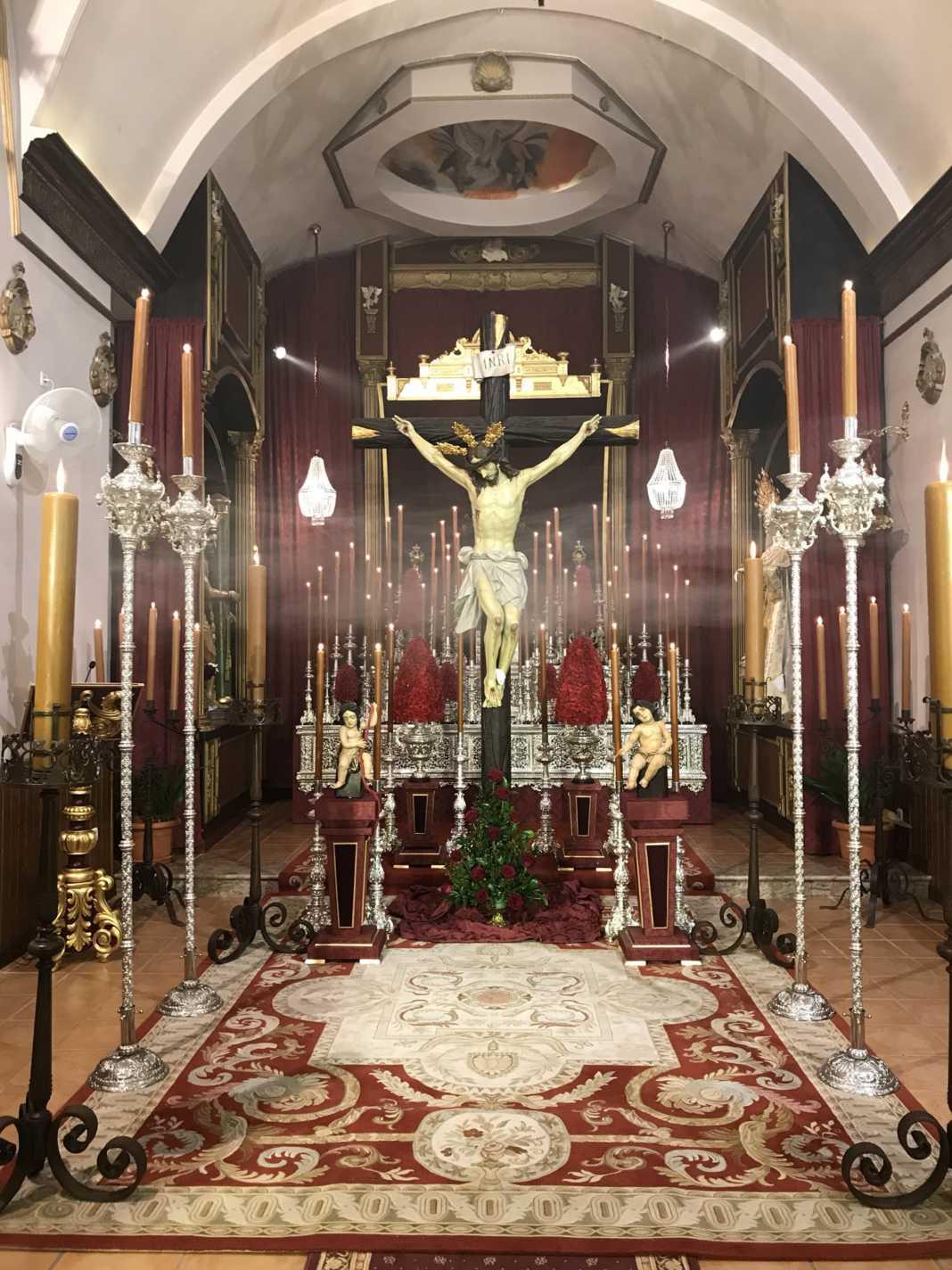 besapie al Cristo de los Afligidos Herencia 2017  1068x1424 - Besapié en honor al Cristo de los Afligidos