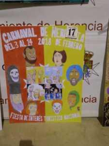 Elige el cartel de Carnaval de Herencia 2018 que más te gusta… 1