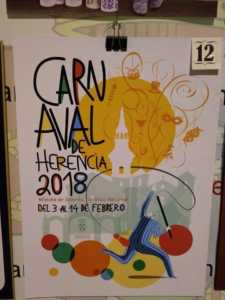 Elige el cartel de Carnaval de Herencia 2018 que más te gusta… 10