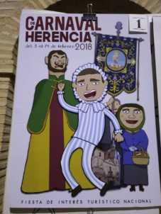 carteles carnaval herencia 2018 fiesta interes nacional 12 227x302 - Elige el cartel de Carnaval de Herencia 2018 que más te gusta…