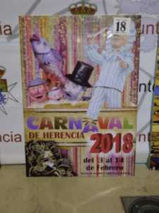 carteles carnaval herencia 2018 fiesta interes nacional 13 226x302 - Elige el cartel de Carnaval de Herencia 2018 que más te gusta…