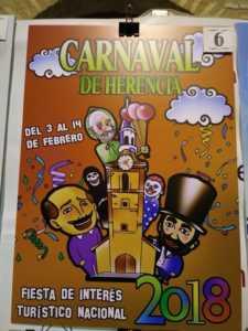 Elige el cartel de Carnaval de Herencia 2018 que más te gusta… 14