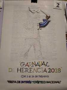 Elige el cartel de Carnaval de Herencia 2018 que más te gusta… 16