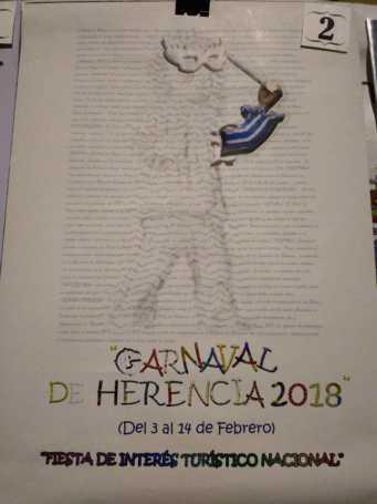 carteles carnaval herencia 2018 fiesta interes nacional 16 341x455 - Elige el cartel de Carnaval de Herencia 2018 que más te gusta…