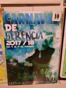 Elige el cartel de Carnaval de Herencia 2018 que más te gusta… 18