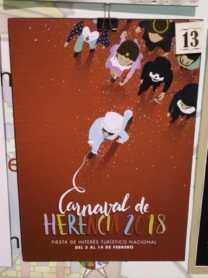 carteles carnaval herencia 2018 fiesta interes nacional 20 208x278 - Elige el cartel de Carnaval de Herencia 2018 que más te gusta…