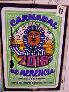 carteles carnaval herencia 2018 fiesta interes nacional 5 227x302 - Elige el cartel de Carnaval de Herencia 2018 que más te gusta…