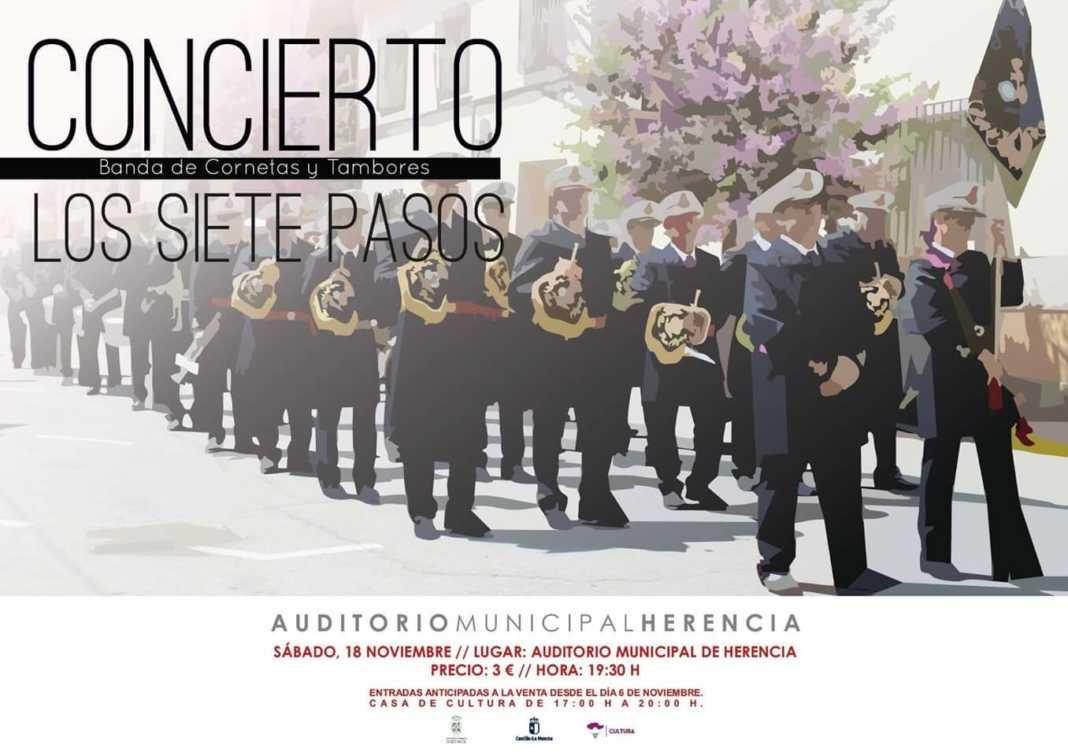concierto siete pasos herencia 1068x756 - Concierto de la Banda de los Siete Pasos este finde