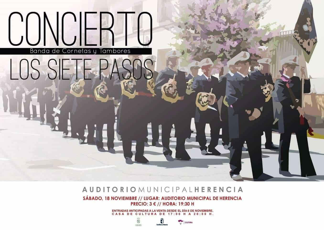 concierto siete pasos herencia - Concierto de la Banda de los Siete Pasos este finde