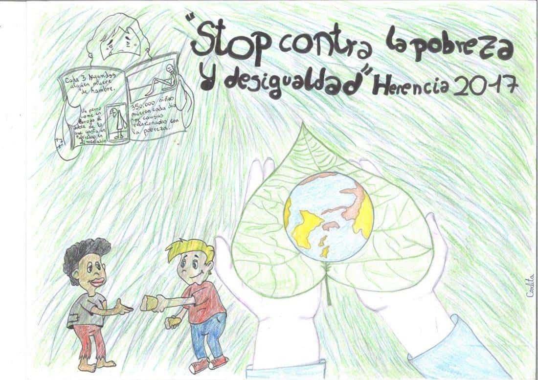 """Carteles ganadores del concurso """"Stop contra la pobreza"""" 9"""