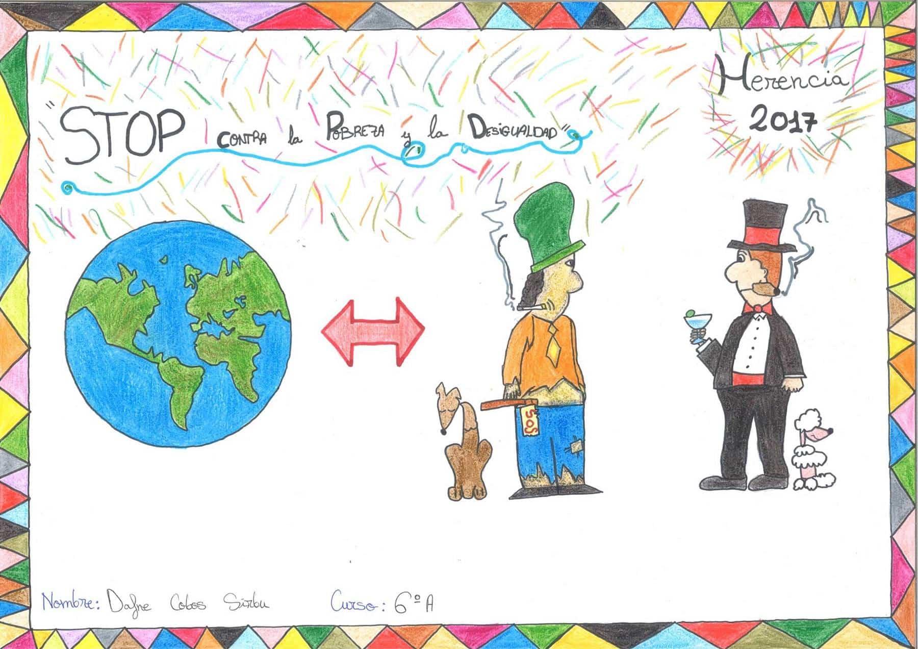 """concurso stop contra la pobreza 2 - Carteles ganadores del concurso """"Stop contra la pobreza"""""""