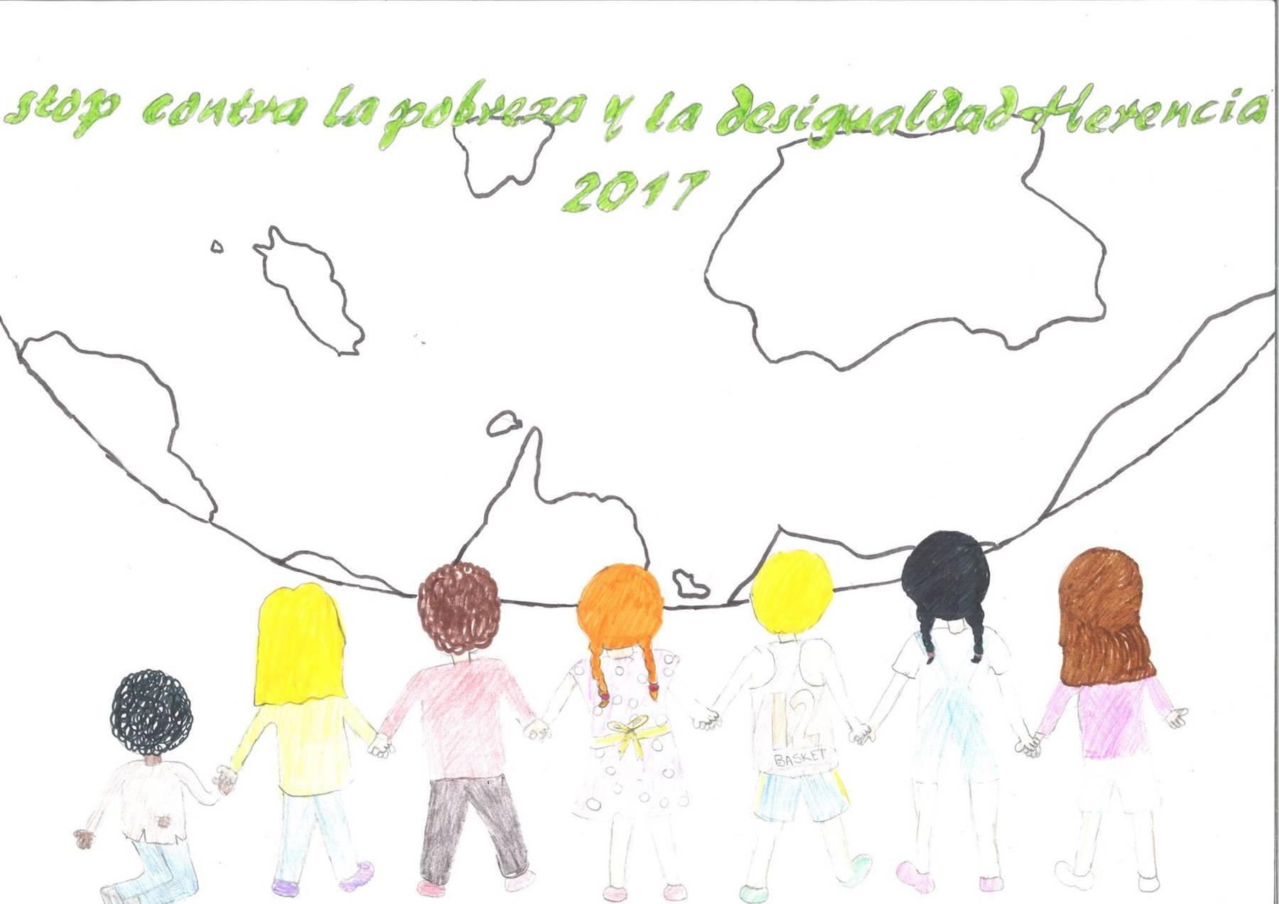 """Carteles ganadores del concurso """"Stop contra la pobreza"""" 7"""