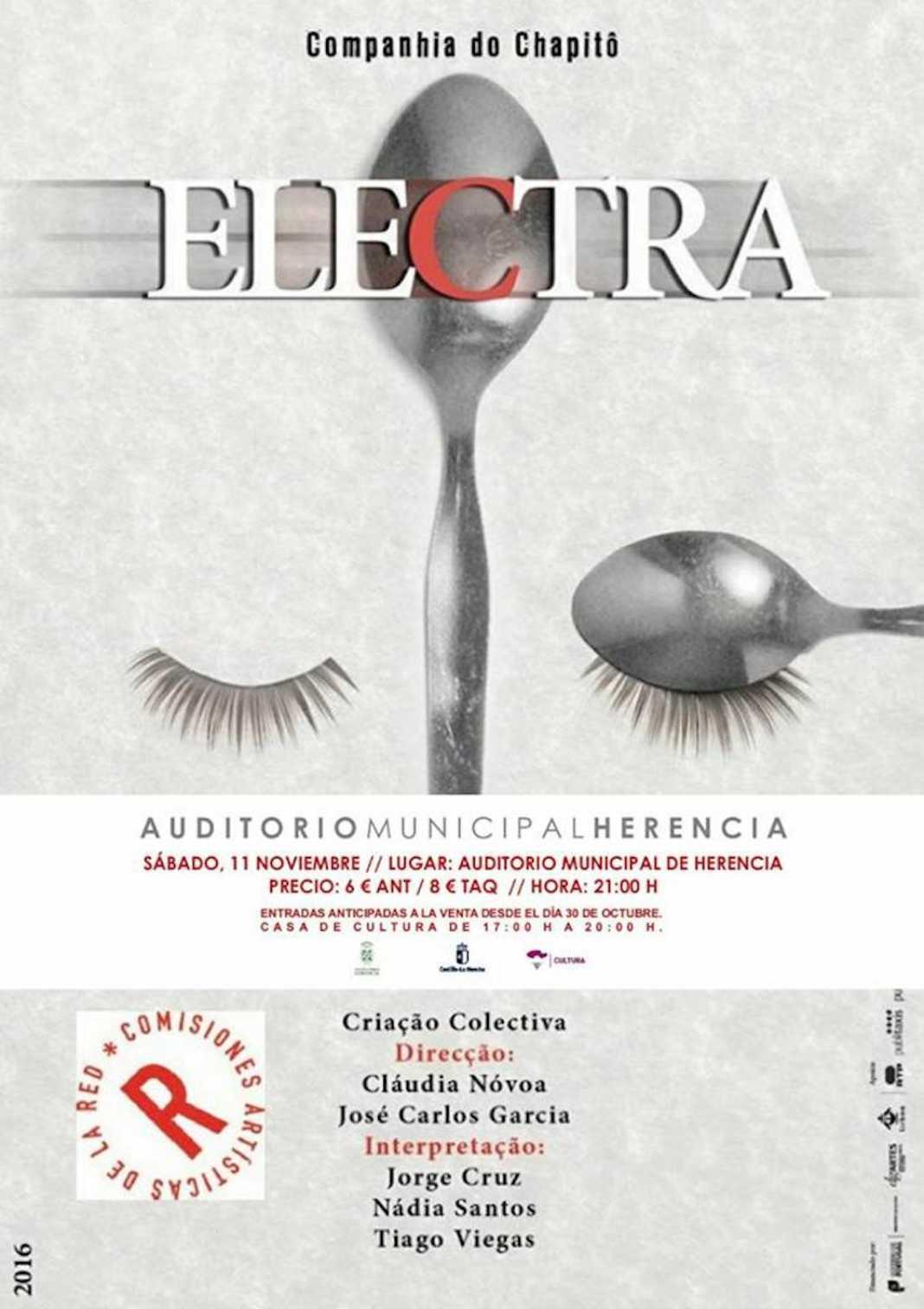 Nueva cita en el Auditorio con la obra de teatro clásico Electra 4