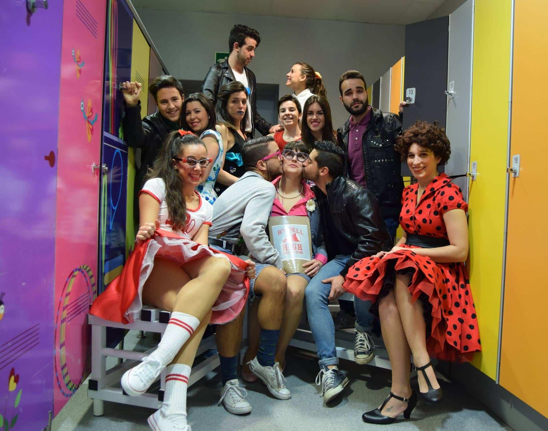 elenco tributo a grease - Tributo a Grease en el Auditorio de Herencia
