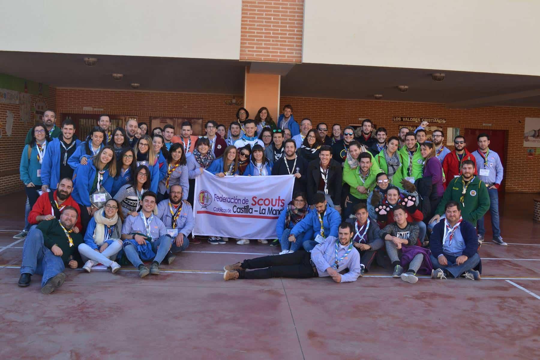 Los scouts de Castilla-La Mancha se reunieron en Herencia 7
