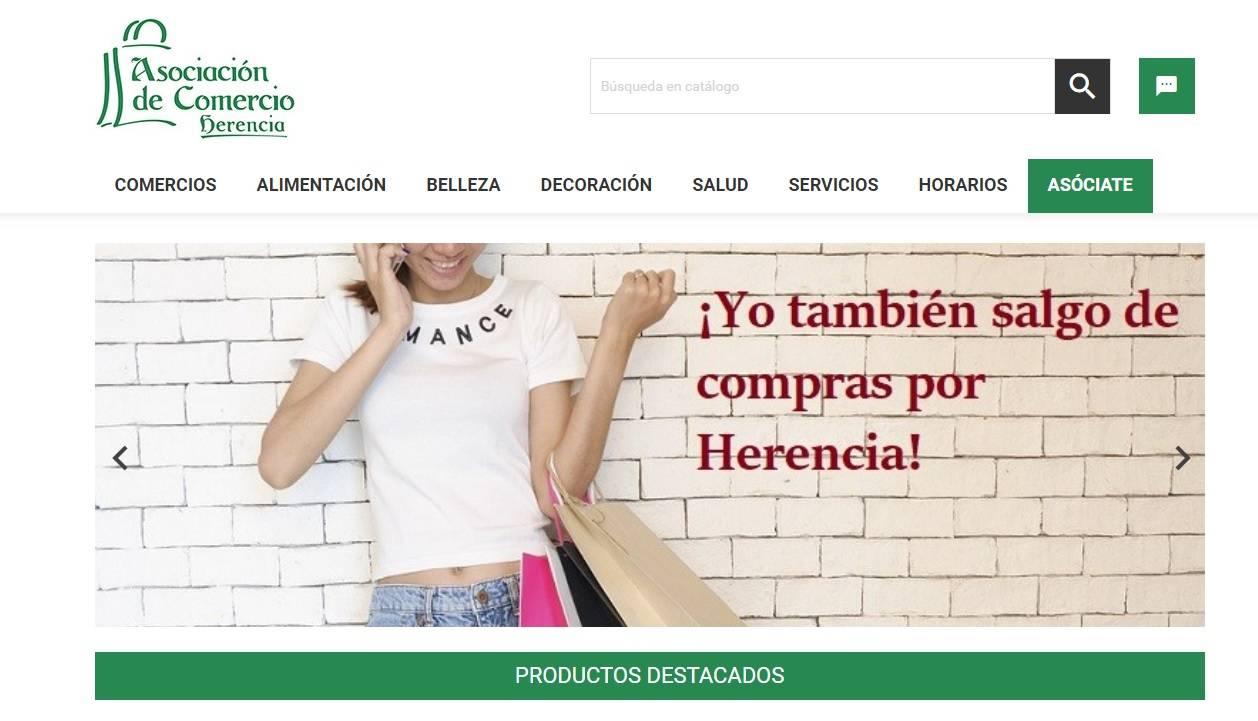 """herenciashop - La Asociación de Comercio local lanza su """"tienda online"""""""