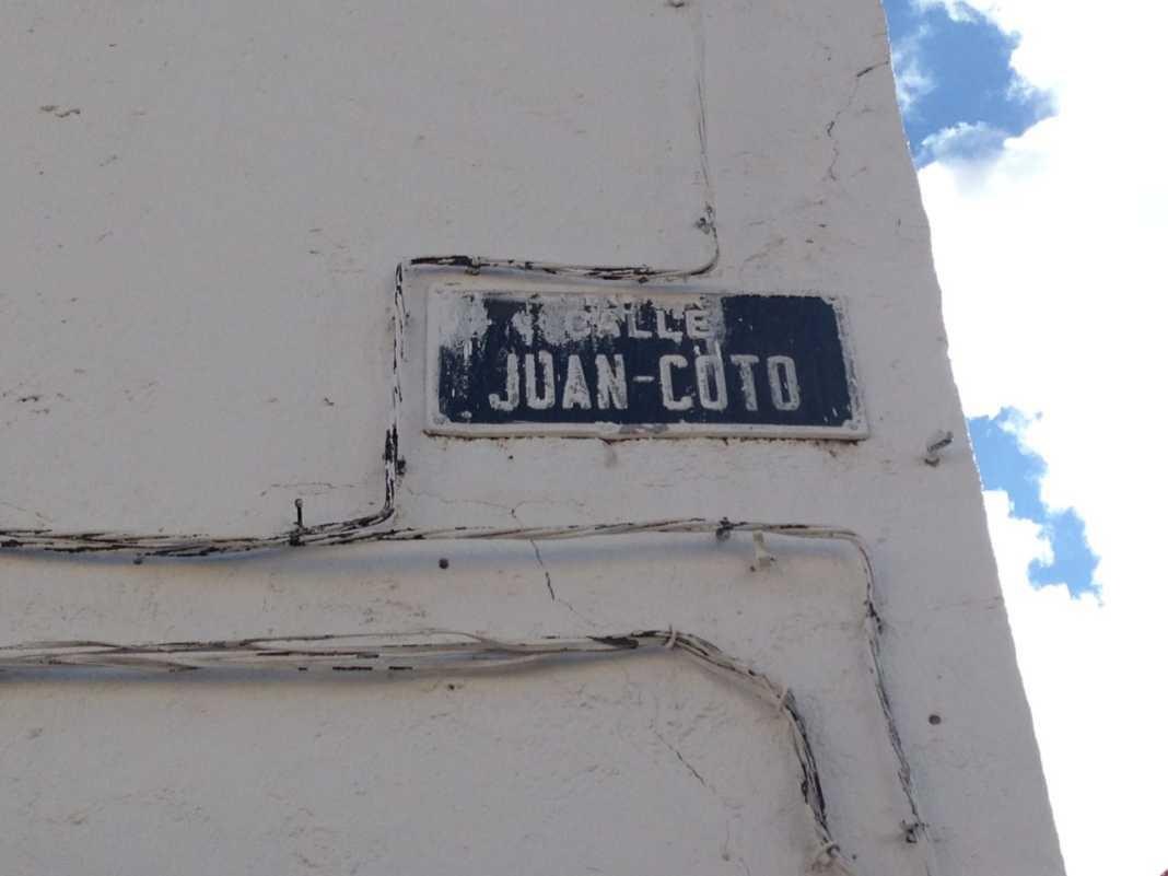 Las calles de Herencia. La calle Juan Coto 16
