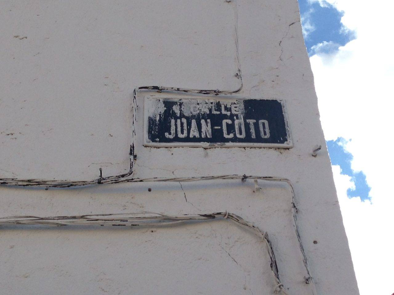 Las calles de Herencia. La calle Juan Coto 11