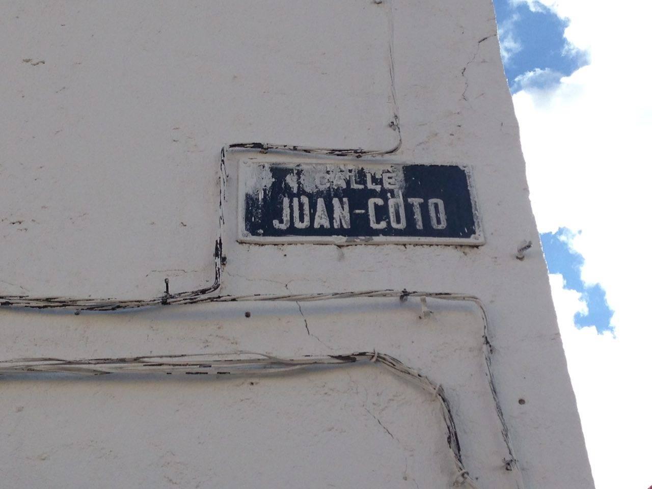 juan coto 2 - Las calles de Herencia. La calle Juan Coto