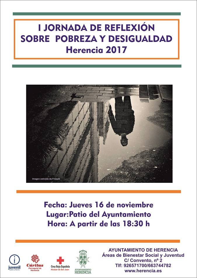 mesa por la inclusión social en Herencia - Ponencias para reflexionar sobre la pobreza y la desigualdad