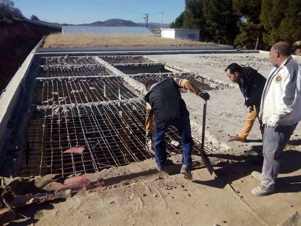 obras en deposito de agua herencia - Obras urgentes en un depósito de la red de agua potable en el municipio