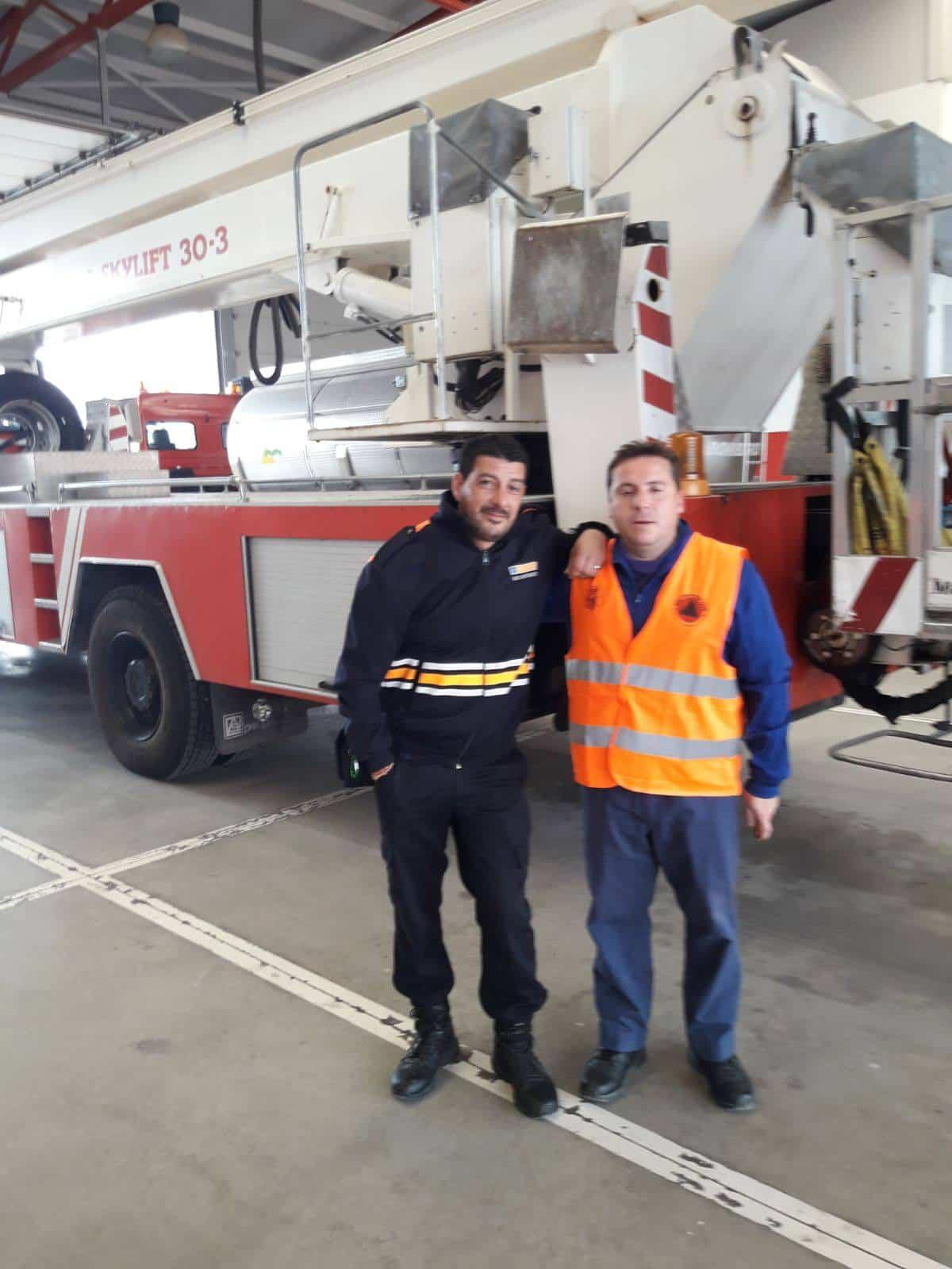 proteccion civil herencia curso extintores 1 - Protección Civil de Herencia se forma en prevención de incendios