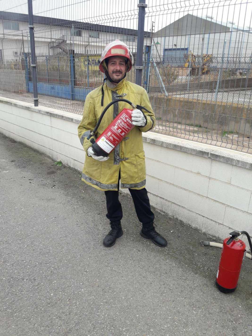 Protección Civil de Herencia se forma en prevención de incendios 10