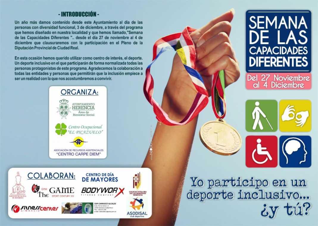 semana de las capacidades diferentes en Herencia1 1068x759 - Semana de las Capacidades Diferentes en Herencia