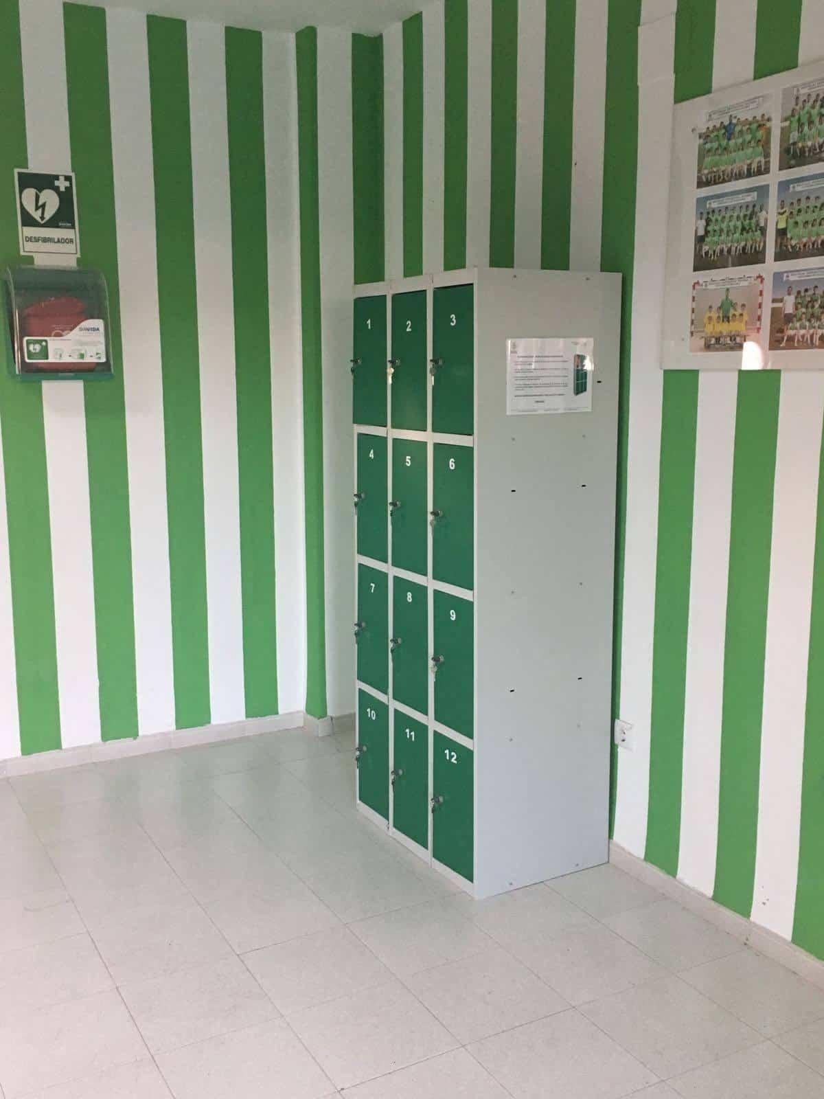 Instalación de taquillas en instalaciones deportivas 9