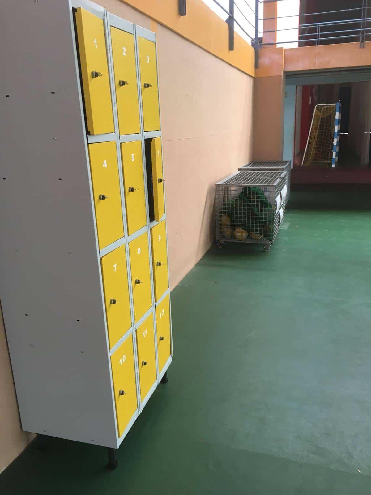 Instalación de taquillas en instalaciones deportivas 8