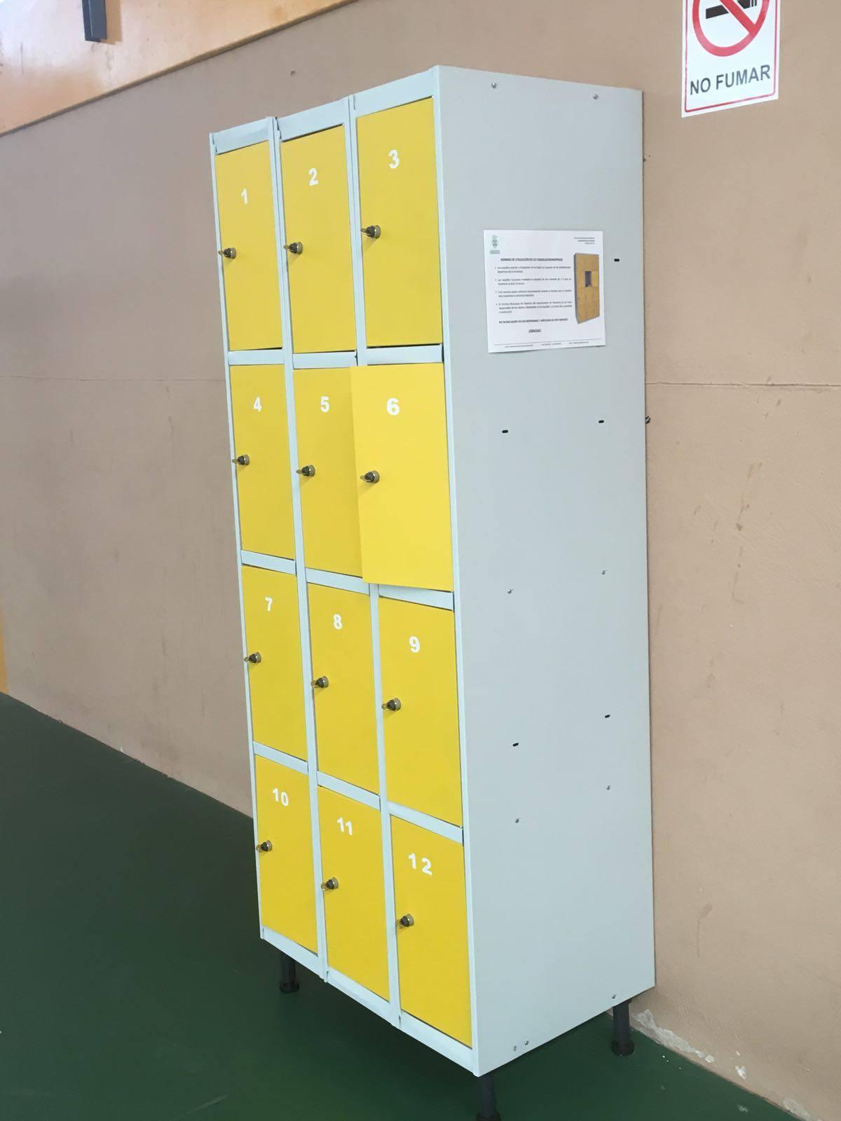 Instalación de taquillas en instalaciones deportivas 7