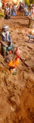 03 Juan Sanchez Aguilera en la ermita de San Bartolome12 118x420 - Galería de imágenes de la III Muestra de belenes de Herencia