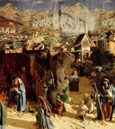 05 Belen de la Familia Gallego de la Sacristana Glez Ortega08 374x420 - Galería de imágenes de la III Muestra de belenes de Herencia