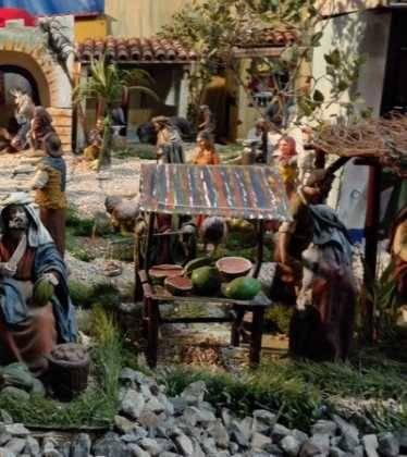 07 Belen de Jesus Lopez Escribano 22Chamusca2204 374x420 - Galería de imágenes de la III Muestra de belenes de Herencia